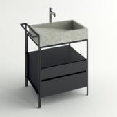 Concrete sink set 1