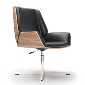 Office armchair Milano black
