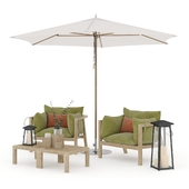 Prestoria Umomoku Outdoor Lounge Set - 01 / Outdoor set - 01