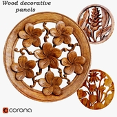 Wood decorative panels 03