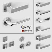 Door handles DnD by Martinelli
