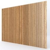Рейки деревянные декоративные