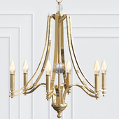 Evington Chandelier By Feiss