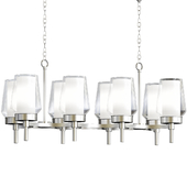 Manchester Linear Chandelier By Eurofase