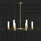Portico Chandelier By Hubbardton Forge