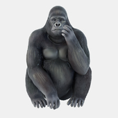Figurine Gorilla 05