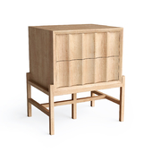 CONTOUR BEDSIDE TABLE