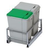 Undermount waste container