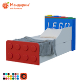 Bed for children with extra bed