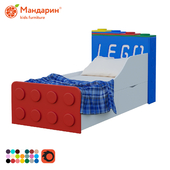 Children's bed with 2 drawers
