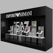 Emporio Armani shop window
