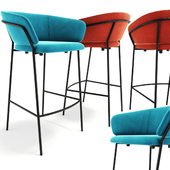 Jazz bar stool