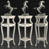 Скульптура конь, подставка для цветов