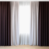 Curtains 31 | Curtains with tulle