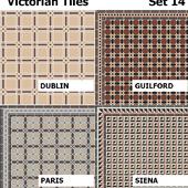 Topcer Victorian Tiles Set 14