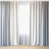 Curtains 32 | Curtains with tulle