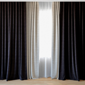 Curtains 33 | Curtains with tulle