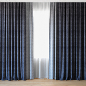 Curtains 34 | Curtains with tulle