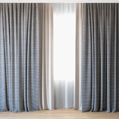 Curtains 35 | Curtains with tulle