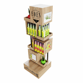 Floor Stand Product Display and Box Sleeve