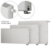 Steel panel radiators Kermi therm-x2 Profil L-80
