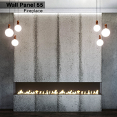 Wall Panel 55. Fireplace