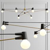Long cord chandelier