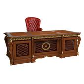 Arca.Presidential desk.Presidental armchair.