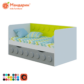 Children's sofa bed with two drawers