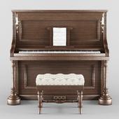 Vintage Wood Piano