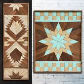 Wood paneling 80