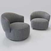 Jane armchair and swivel chair