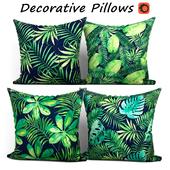 Decorative Pillow set 194 BLUETTEK Tropical