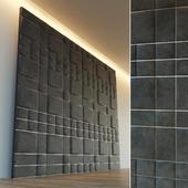 Decorative wall. Soft panel. 26