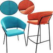 Jazz bar stool and chair