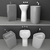 Washbasin set