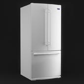 Maytag 19.7-cu ft 3-Door Refrigerator Refrigerator Single Ice Maker