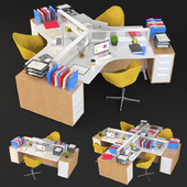Open Office Stations