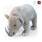 Мягкая игрушка, носорог ДЬЮНГЕЛЬСКОГ
