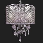 Suspension Aurore 4-Light LED Crystal Chandelier