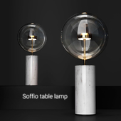 Giopato & Coombes Bolle Soffio table lamp CLEAR/GOLD