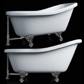Ванна Barclay Products 5 ft. Acrylic Ball and Claw Feet Slipper Tub in White