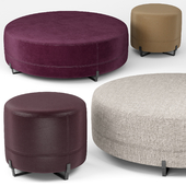 New York round poufs - Poliform