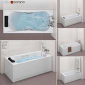 Набор ванн Roca set 31 (Element,BeCool,Hall,Vythos)