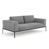 Gloster Grid Sofa Unit 3 / Outdoor module 2