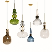 Suspended lamps Carnival by Vintage