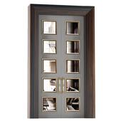 Межкомнатные двери раздвижные с зеркалом