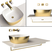 Mixer and sink CATALANO and CRISTINA IT 243