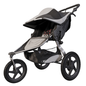 BOB Revolution Flex Jogging Stroller Black