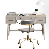 West Elm Office Furniture